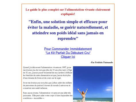 Alimentation Crue/raw Food Diet In French: What Do You Need For A.