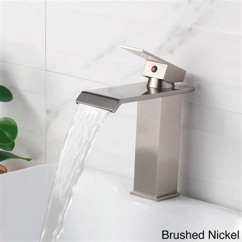 Amazing Deal On Monroe Single Lever Waterfall Lav Faucet .