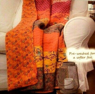 Amazing Deal On Royal Empire Throw Tangerine - Bhg Com.