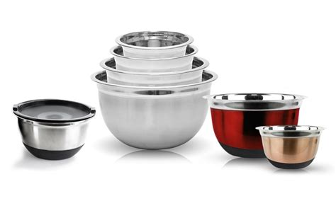 Amazing Deals On 4-Piece Stainless Steel German Mixing .