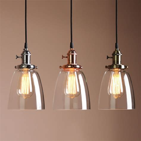 Amazing Deals On Barny Glass And Wood Pendant Light.