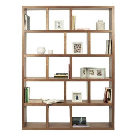 Amazing Deals On Berlin 4 Levels Bookcase 150 Walnut.