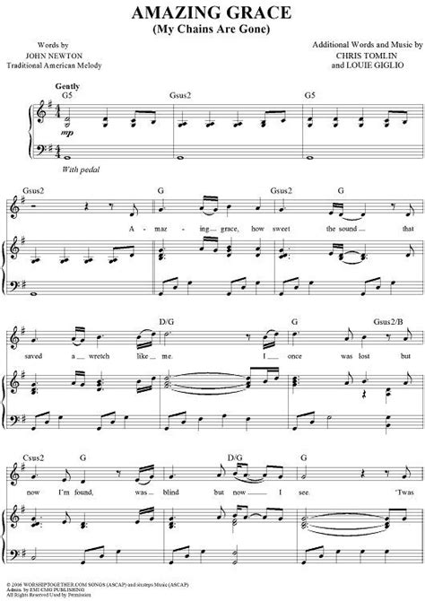 [pdf] Amazing Grace My Chains Are Gone - Blessed Life Church.