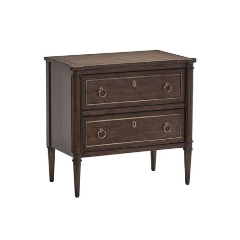 Amazing New Deals On Draper 2-Drawer Wooden Nightstand.