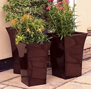 Amazon Co Uk Large Contemporary Planters.