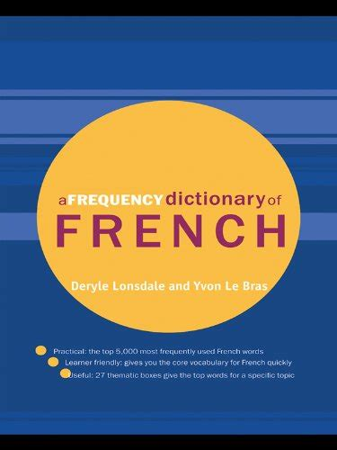 @ Amazon Com A Frequency Dictionary Of French Routledge .