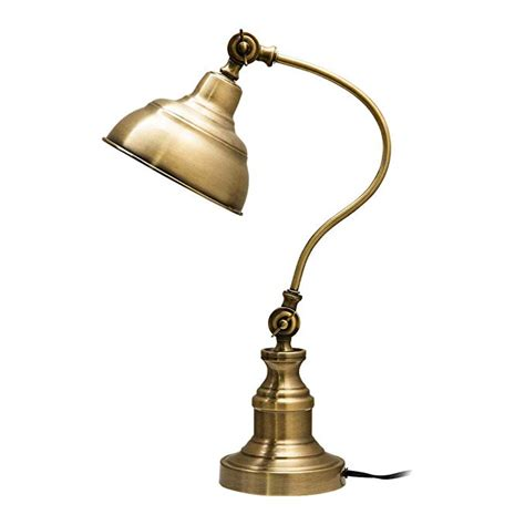 Amazon Com Antique Brass Table Lamp.