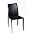 Amazon Com Baxton Studio Edda Leather Dining Chair Black .
