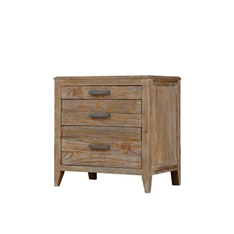 Amazon Com Emerald Home Torino Weathered Brown Nightstand .