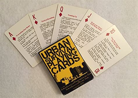 @ Amazon Com Urban Survival Playing Cards - These Aren T .