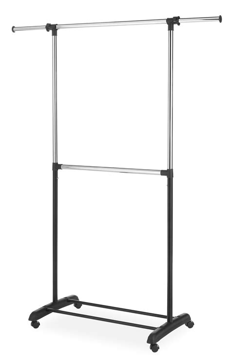 Amazon Com Whitmor Adjustable 2-Rod Garment Rack .