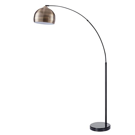 Amazon Com Brass Arc Floor Lamp.
