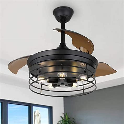 Amazon Com Caged Ceiling Fan.