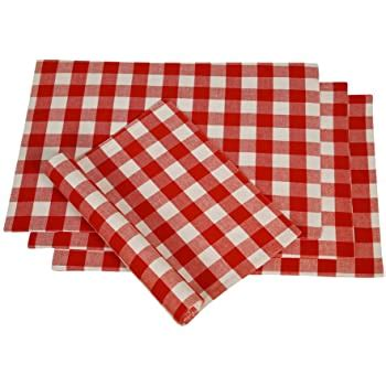 Amazon Com Checkered Placemats.