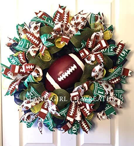 Amazon Com Football Wreath.