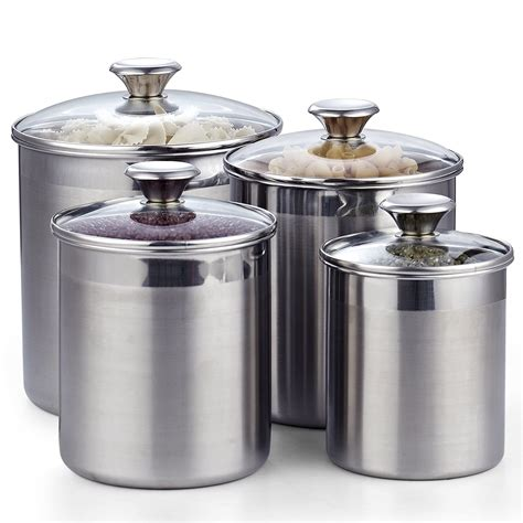Amazon Com Kitchen Canisters Set Of 3.