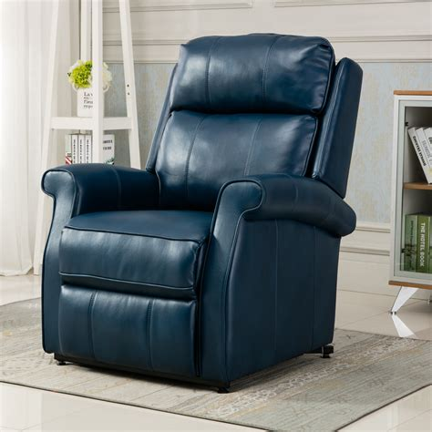 Amazon Com Navy Leather Chair.