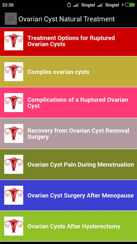[click]amazon Com Ovarian Cysts Treatment