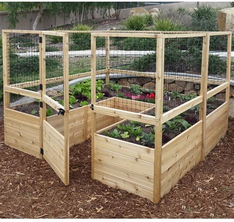 Amazon Com Raised Garden Bed Fence.