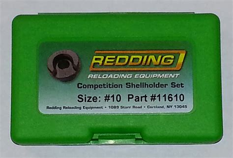 Amazon Com Redding Competition Shellholder Set - New.