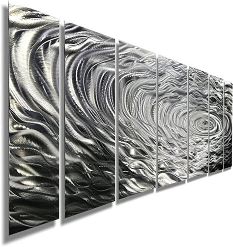 Amazon Com Silver Wall Sculpture.