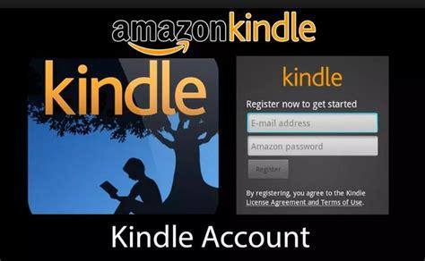 Amazon Kindle My Account