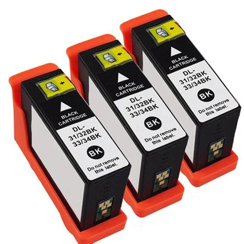 Amazon.com : Dell Series 31 Black Ink Cartridge For Dell V525w.
