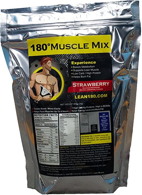 Amazon.com: Lean 180 Muscle Mix, Best Weight Loss Protein.