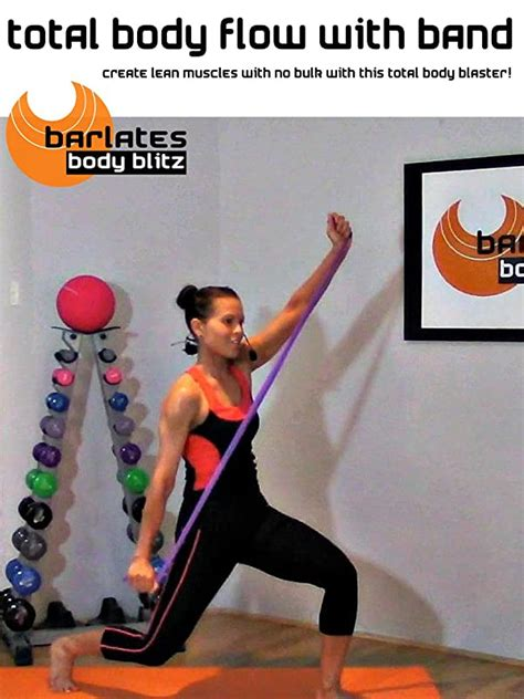 Amazon.com: Watch Barlates Body Blitz Total Body Flow With Band.
