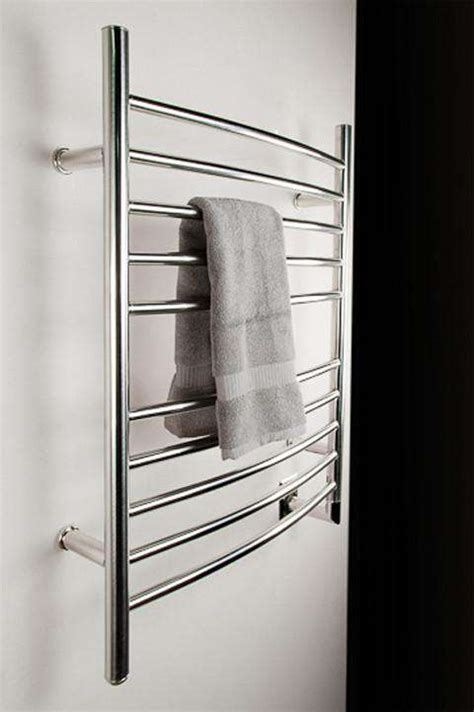 Amba Radiant Curved Hardwired Towel Warmer - 23 75 W X 31 5 H.