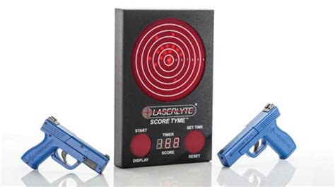 American Rifleman Laserlyte Score Tyme Target And .