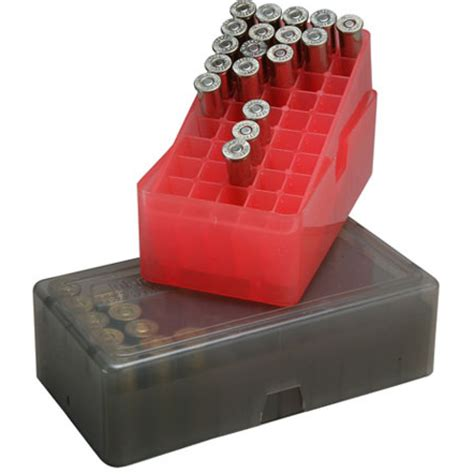 Ammo Boxes For Handguns Pistols By Mtm Case-Gard .
