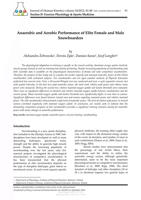 [pdf] Anaerobic And Aerobic Performance Of Elite Female And Male .
