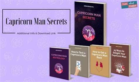 [click]anna Kovach  S Capricorn Man Secrets - Truth About Product.