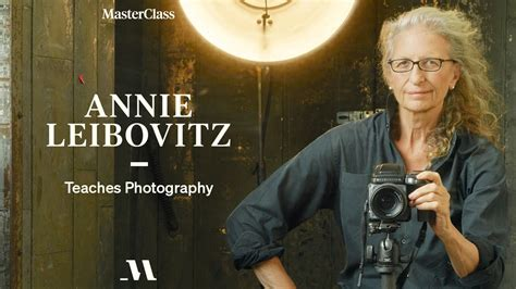 Annie Leibovitz Teaches Photography Official Trailer Masterclass.