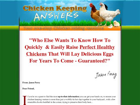 @ Answers To Raising Chickens - A Complete Guide To Keeping .