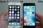 Apple iPhone 7 vs 6s