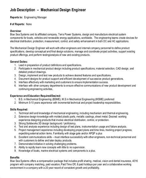 applications engineer job description