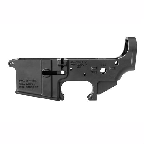 Ar-15 Blemished M16 A1 Lower Receiver Brownells.