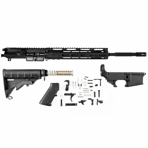 Ar-15 Receiver Set W Lower Parts Kit  Stock Brownells.
