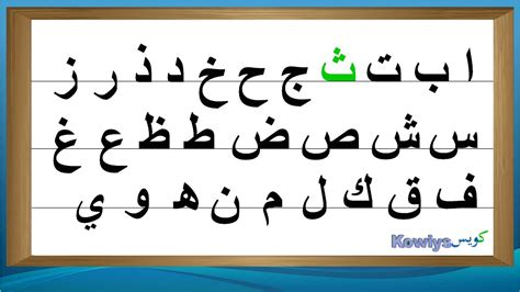 [pdf] Arabic Alphabet How To Read And Write It.