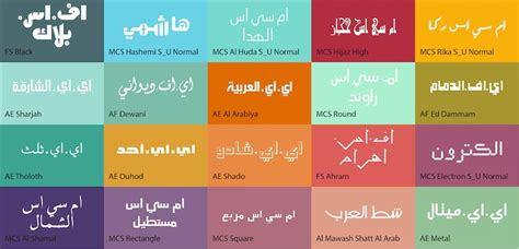 [click]arabic Fonts Master Collection .