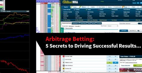 [click]arbitrage Betting 5 Secrets To Driving Successful Results.