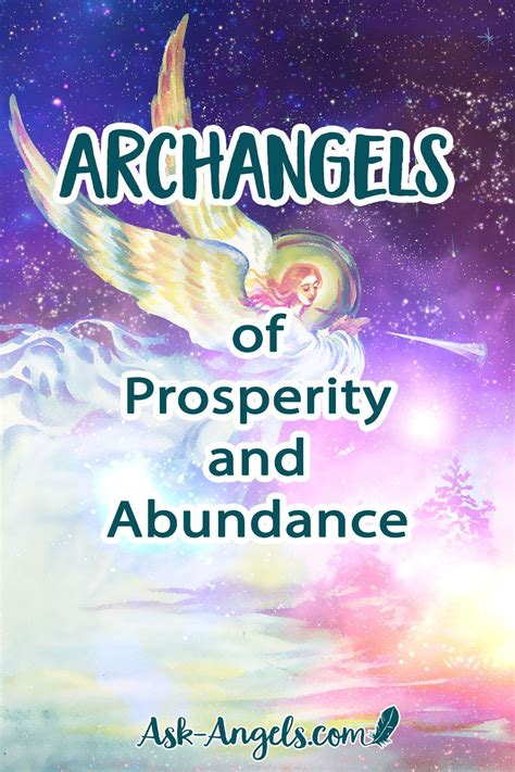 Archangels Of Prosperity And Abundance - Ask-Angels.com.