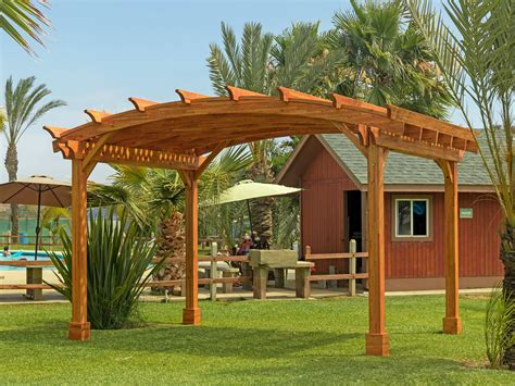 Arched Pergola Kits For Sale