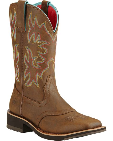 Ariat Square Toe Boots for Women