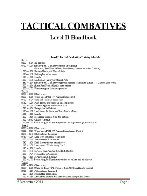 [pdf] Army Combatives Level 2 Handbook - Wordpress Com.