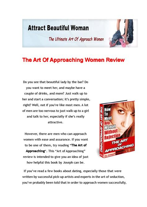 [click]art Of Approaching Women Pdf By Alexis Charles - Issuu.