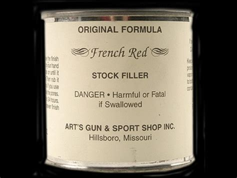 Art S The Original Herter S Formula Stock Filler 8oz Clear.