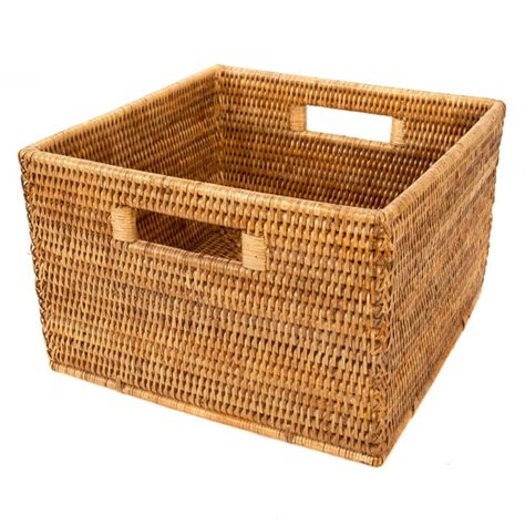 Artifacts Rattan Square Basket In 2019  Products  Square .
